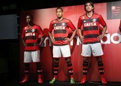 Apresentação da nova camisa do Flamengo (Foto: Cleber Mendes/ LANCE!Press)