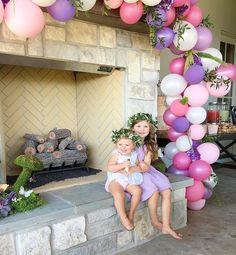 Two little fairy princesses. Happy birthday Darcy!!