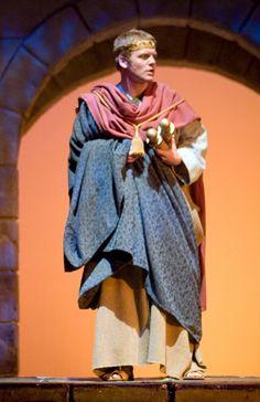 Roman Statesman in costume
