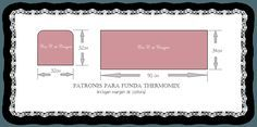 patrones funda thermomix Blush, Eyeshadow, Crafts, Beauty, Scrappy Quilts, Slipcovers, Free Pattern, Tejidos, Patterns