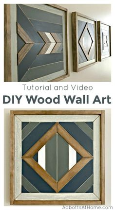 I love this DIY idea! Here's how-to build steps and a quick video to show you how to make your own DIY Scrap Wood Wall Art. I love this DIY idea! Here's how-to build steps and a quick video to show you how to make your own DIY Scrap Wood Wall Art.