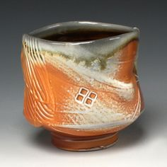 Tom Coleman, soda fired teabowl