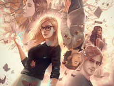 The Magicians Fan Art Contest by andyliongart on DeviantArt Big Hero 6, Fantasy Movies, Sci Fi Fantasy, New Series To Watch, Tv Series, Magician Art, The Magicians Syfy, The Magicians Characters, Witch Characters