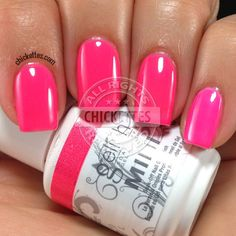 Chickettes.com Gelish Pacific Sunset from the Gelish Colors of Paradise Collection