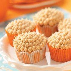 Cupcakes de calabaza, canela y jengibre
