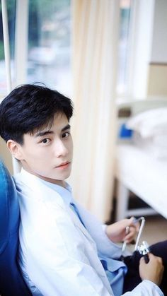 Doctor Hu Yi Tian, I need treatment. Handsome Actors, Handsome Boys, Asian Actors, Korean Actors, F4 Boys Over Flowers, Chines Drama, A Love So Beautiful, Chinese Boy, Hot Boys