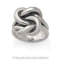 James Avery bold love knot ring $90