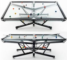 HLN Supplies Clear Acrylic Pool Table Clear Pool Table Pinterest - Clear pool table