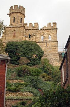 Lincoln Castle.