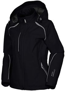 Sunice Stephanie Gore-Tex Rain Jacket with removable hood #golf4her #sunice