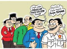 Mice Cartoon, Rakyat Merdeka - Februari 2016: Tolak Revisi UU KPK