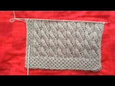 Fan Vest Sample Latest Fashion – On Demand – and last part) – … - knitting Spool Knitting, Knitting Stiches, Knitting Videos, Tunisian Crochet, Knit Crochet, Crochet Blanket Patterns, Knitting Patterns, Crochet Flower Headbands, Knitted Slippers