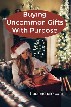 Buying Uncommon Gifts With Purpose
