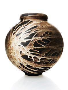 Adam Silverman Vase with interesting glaze