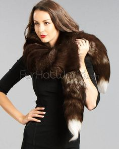 Fox Fur Boa Scarf | Fur Hat World