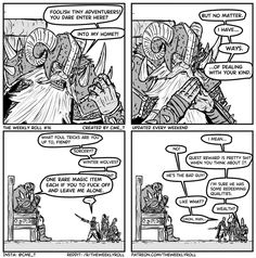 [Art][OC] The Weekly Roll An evil secret weapon Dungeons And Dragons Memes, Dungeons And Dragons Homebrew, Dnd Stories, Funny Stories, Dnd Funny, Stupid Funny, Dragon Memes, Funny Comics, Dnd Comics