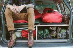Subaru Outback Sleep Platform