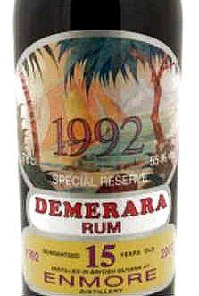 Demerara 1992-2007 from Enmore Distillery. Bottled by Silver Seal