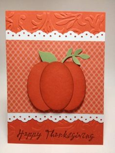 Stampin Up Thanksgiving Cards   Thanksgiving Happy Harmony   super stampin up cards & tags by others