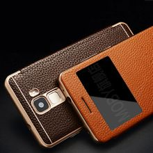 Vintage Retro Luxury Genuine Classic Leather + Metal Frame Flip Cover Case for Huawei Honor 7 View Window Phone Bags Case     Tag a friend who would love this!     FREE Shipping Worldwide     #ElectronicsStore     Get it here ---> http://www.alielectronicsstore.com/products/vintage-retro-luxury-genuine-classic-leather-metal-frame-flip-cover-case-for-huawei-honor-7-view-window-phone-bags-case/