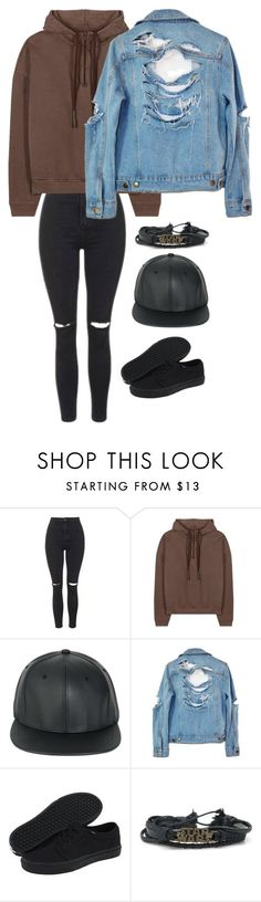 """Untitled #253"" by niki-bogner ❤ liked on Polyvore featuring Topshop, adidas Originals, High Heels Suicide and Vans"