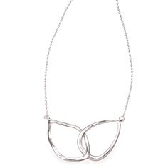 Interlocking Double Teardrop Necklace #FashionFavorite #chloeandisabel Shop the look at my boutique today!  xoxo, Dia Thomas #LiveChic https://www.chloeandisabel.com/boutique/livechic