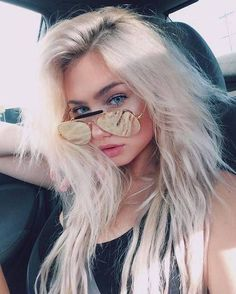 molly omalia uploaded by ➴ M A I ➹ on We Heart It Girls Tumblrs, Just Girl Things, Pretty Face, Blonde Hair, Beautiful People, Cool Hairstyles, Hair Makeup, Hair Beauty, Hair Styles