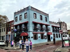 Downtown Wilmington, NC - One of the three cities on my list of places to move!