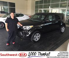 https://flic.kr/p/MGcgEb | #HappyBirthday Melissa from Clinton Miller at Southwest Kia Mesquite! | www.deliverymaxx.com/DealerReviews.aspx?DealerCode=VNDX