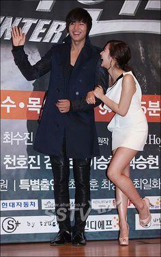 "5 More South Korean celebrity ""how we met"" love stories that will melt your heart Park Min Young, Boys Over Flowers, Lee Min Ho, The Great Doctor, Korean President, How We Met, Kim Sang, City Hunter, Korean Couple"