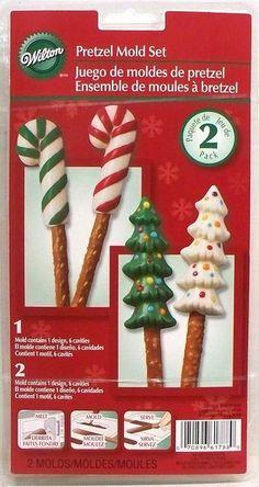 Candy Cane Tree Pretzel Mold 2 pack