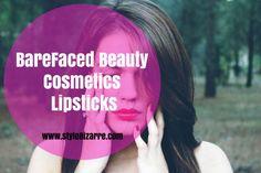 BareFaced Beauty Cosmetics Lipsticks