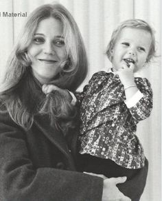 Gwyneth Paltrow in the arms of her mom Blythe Danner