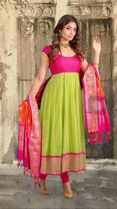 Long Gown Dress, Sari Dress, Saree Gown, Kurta Designs Women, Salwar Designs, Indian Gowns Dresses, Indian Outfits, Indian Attire, Indian Clothes