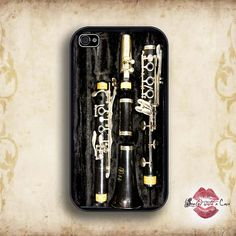 Clarinet - iPhone 4 Case, iPhone 4s Case and iPhone 5/5S/5C case on Etsy, $17.99