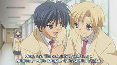 When Tomoya takes advantage of Sunohara's idiocy......