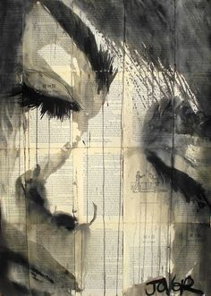 Saatchi Online Artist: Loui Jover; Pen and Ink, 2013, Drawing | http://paintingrosendo.blogspot.com