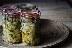 Cucumber Salad, Pickles, Mason Jars, Winter, Recipes, Food, Winter Time, Recipies, Essen