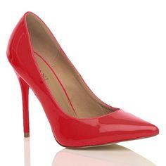 Damen Höher Absatz Kontrast Party Spitz Gepflegt Fesch Arbeit Pumps Schuhe 7 40 - http://on-line-kaufen.de/ajvani/40-eu-7-uk-damen-hoeher-absatz-kontrast-stilettos-10