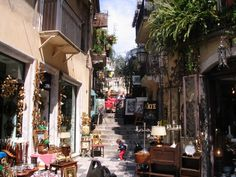 Taormina has endlessly winding medieval streets and tiny passages, each with its own great restaurants, cafés and ice cream bars. Description from msaculturaltours.com. I searched for this on bing.com/images