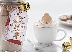 Campfire Marshmallows, Recipes With Marshmallows, Cocoa Recipes, Marshmallow Treats, White Chocolate, Pumpkin Spice, Mugs, Christmas Ornaments, Holiday Decor