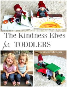 15 Ideas for using the Kindness Elves with toddlers that are simple for little ones to understand and love!