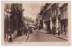 Z 015 Heuvelstraat richting Heuvel, rechts ingang Parkstraat 1925