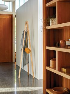 Don't forget about your hallway! Take this under-utilised space to a whole new level with our expert tips. Full Length Mirror Entryway, Hallway Mirror, The Block Nz, Anglepoise, Standing Mirror, Hanging Pendants, Wall Spaces, Storage Baskets, Ladder Decor