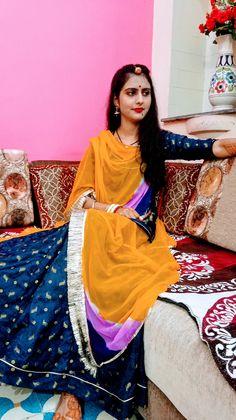 Indian Blouse, Indian Wear, Ethnic Outfits, Ethnic Clothes, Rajasthani Dress, Rajputi Dress, Indian Bridal Fashion, Lehenga, Sarees