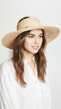 Hat Attack Visor Sunhat In Natural Straw Visor, Visor Hats, Buy Hats, Eugenia Kim, China Fashion, Panama Hat, Ruffle Blouse, Skinny Jeans, Birthday Wishes