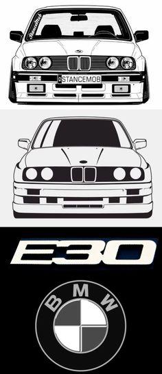 Bmw E30 325, Bmw E34, Password Organizer, Cool Car Drawings, Automobile, Bmw Sport, Bmw Love, Bmw Series, Car Illustration