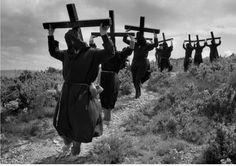 Juxtapoz Magazine - Photography by Cristina Garcia Rodero Magnum Photos, Religion, Spanish Festivals, Eugene Smith, Sign Of The Cross, Photographer Portfolio, Female Photographers, Documentary Photography, Pilgrimage