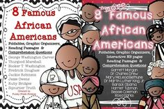 Famous African Americans BUNDLE {16 Figures}: AWESOME unit!