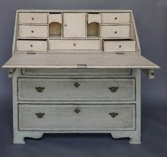 Antique Swedish writing desk
